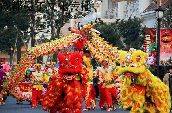 成都開業慶典舞獅團隊
