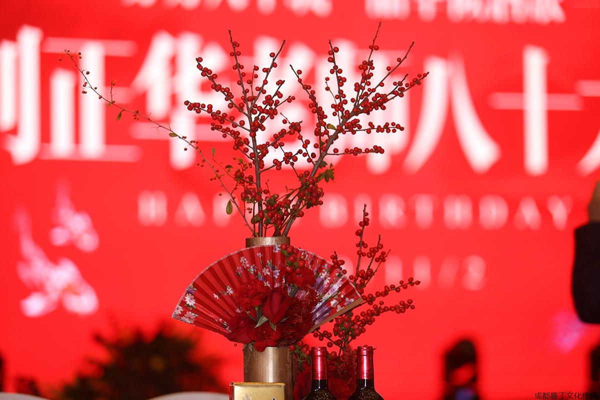 宴会厅花艺布置