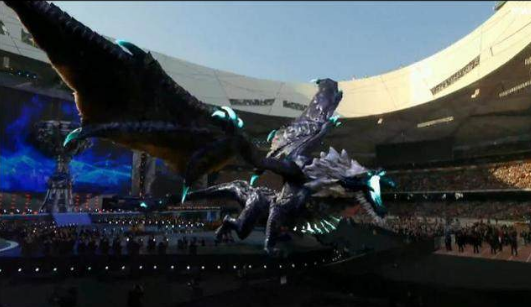 S7英雄聯盟總決賽巨龍開幕